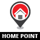 Home Point Logo - GraphicRiver Item for Sale