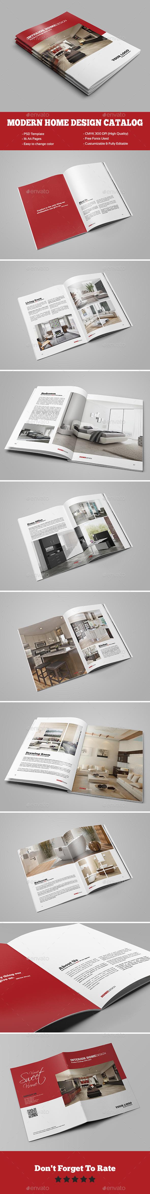 Modern Home Design Brochure/Catalog - Catalogs Brochures