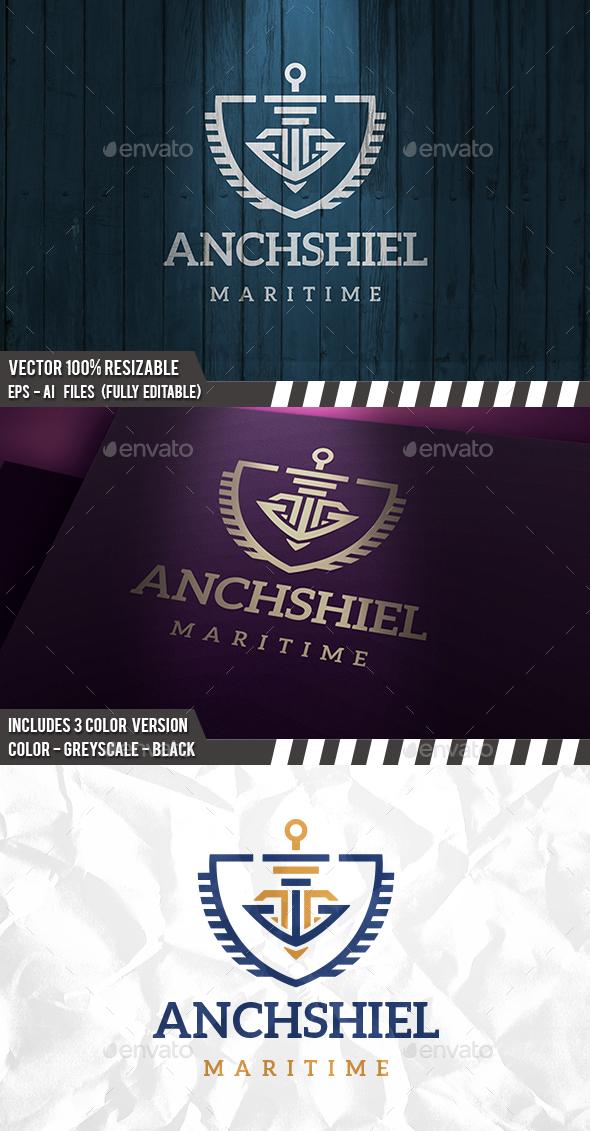 Anchor Security Logo - Crests Logo Templates
