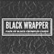 Black Wrapper - paper pack