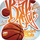 Streetball City Flyer Template - GraphicRiver Item for Sale