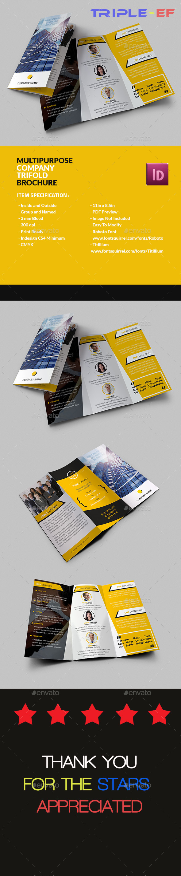 Multipurpose Company Brochure - Corporate Brochures
