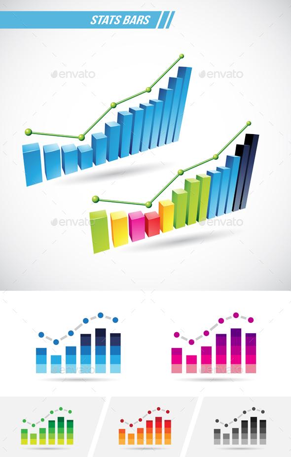 Stats Bars - Vectors