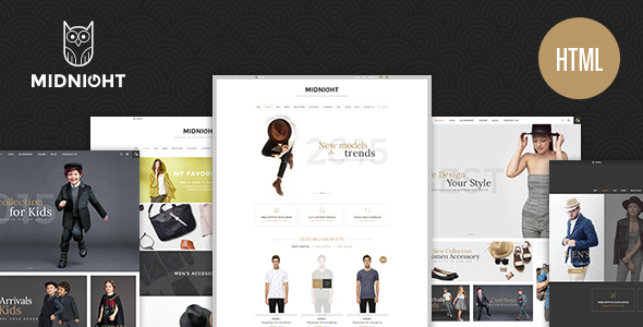 MidNight – eCommerce Fashion HTML5