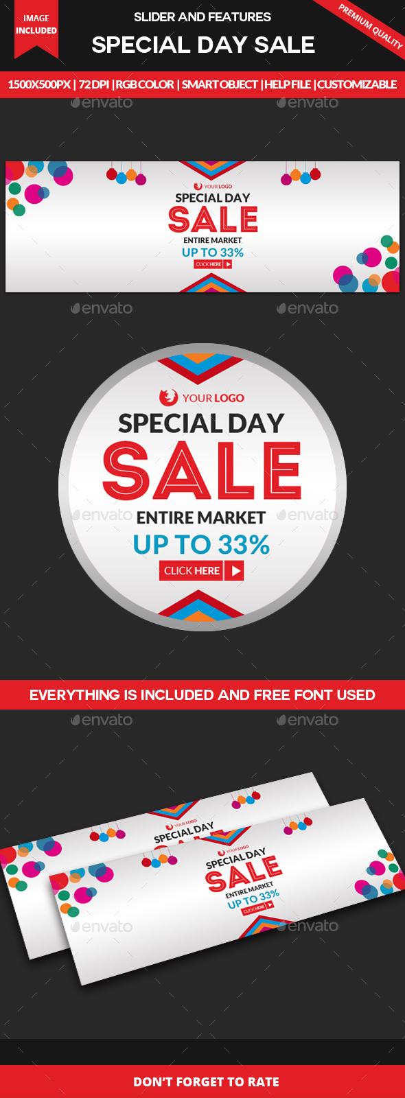 Sale Slider - Sliders & Features Web Elements
