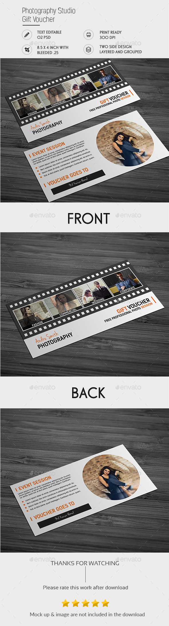 Photography Studio - Flyers Print Templates