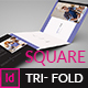 Square Tri- Fold Indesign Brochure - GraphicRiver Item for Sale