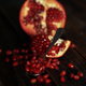 Pomegranate Clusters On Silver Spoon - VideoHive Item for Sale