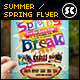 Summer / Spring Break Flyer - GraphicRiver Item for Sale