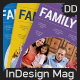 Family InDesign Magazine 56 Page - GraphicRiver Item for Sale
