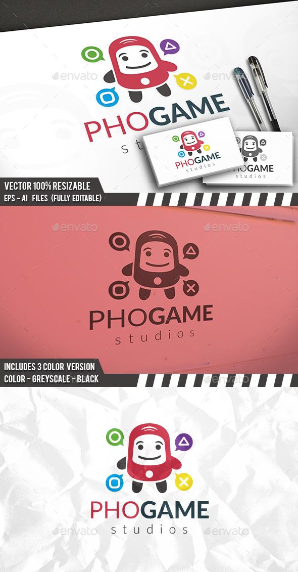 Phone Games Logo - Humans Logo Templates