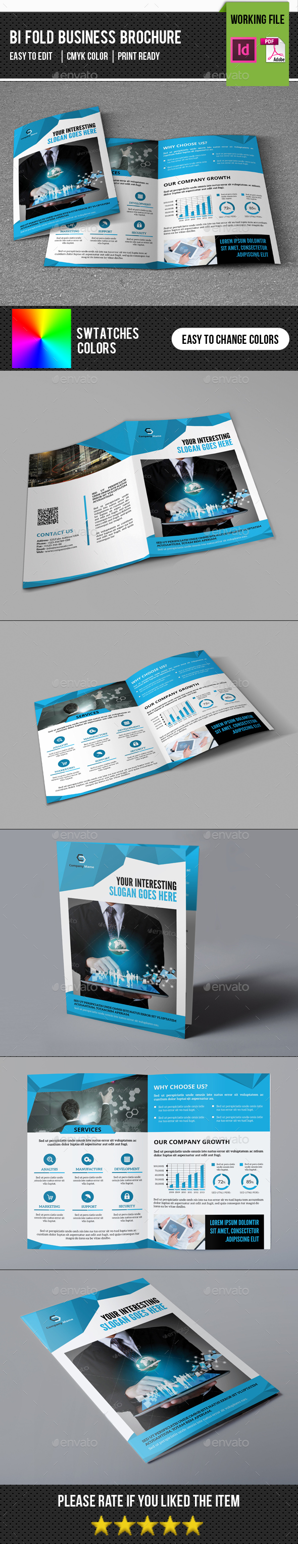 Corporate Bifold Brochure-V344 - Corporate Brochures