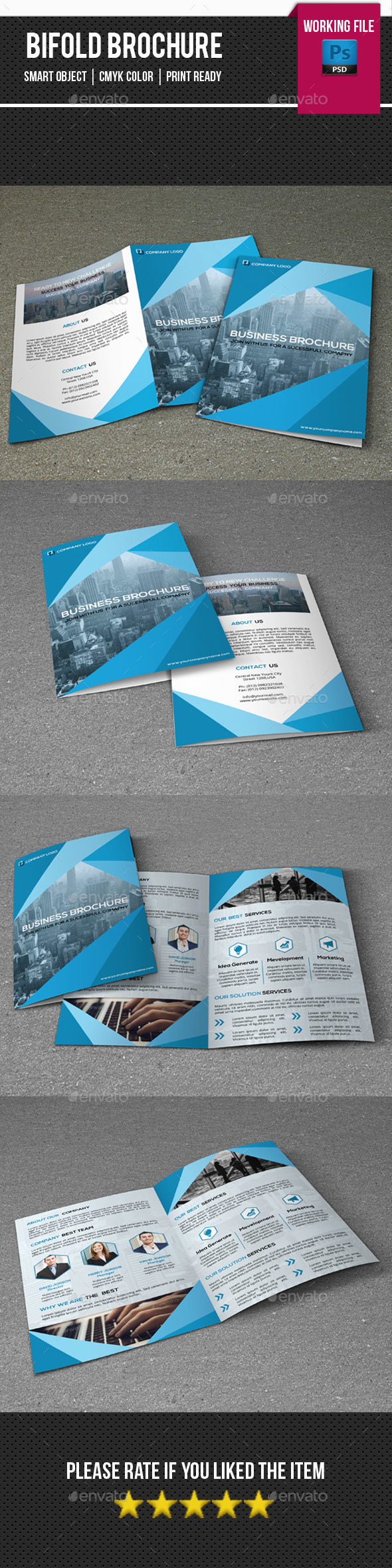 Business Brochure Template-V345 - Corporate Brochures