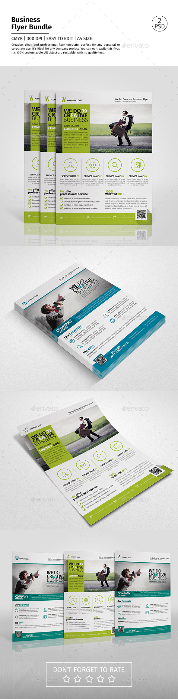 Corporate Flyer Bundle 05 - Corporate Flyers