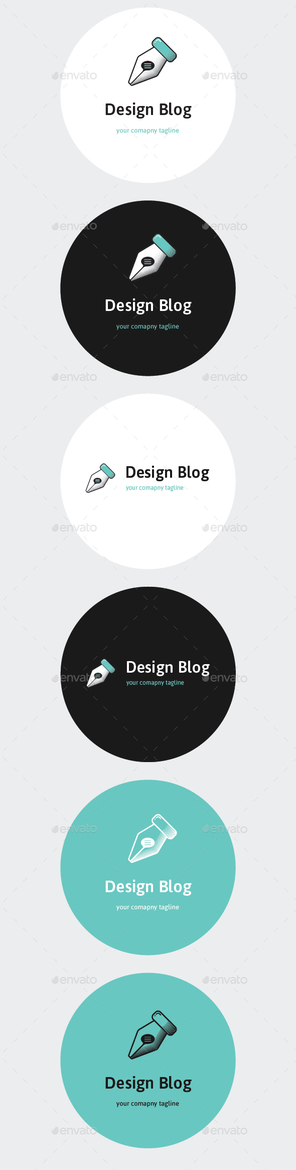 Design Blog Logo Template - Objects Logo Templates