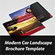 Modern Car Brochure Landscape - GraphicRiver Item for Sale