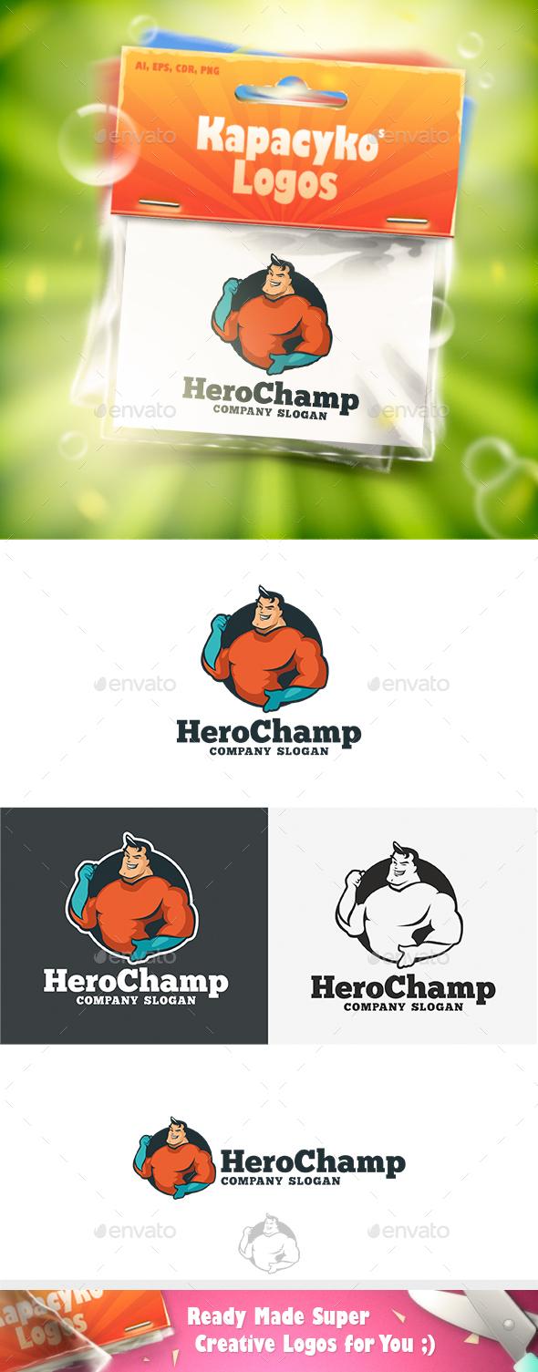 Hero Champ Logo - Humans Logo Templates