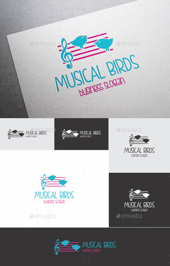 Musical Birds Logo
