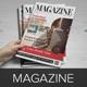 Magazine InDesign Template v1  - GraphicRiver Item for Sale