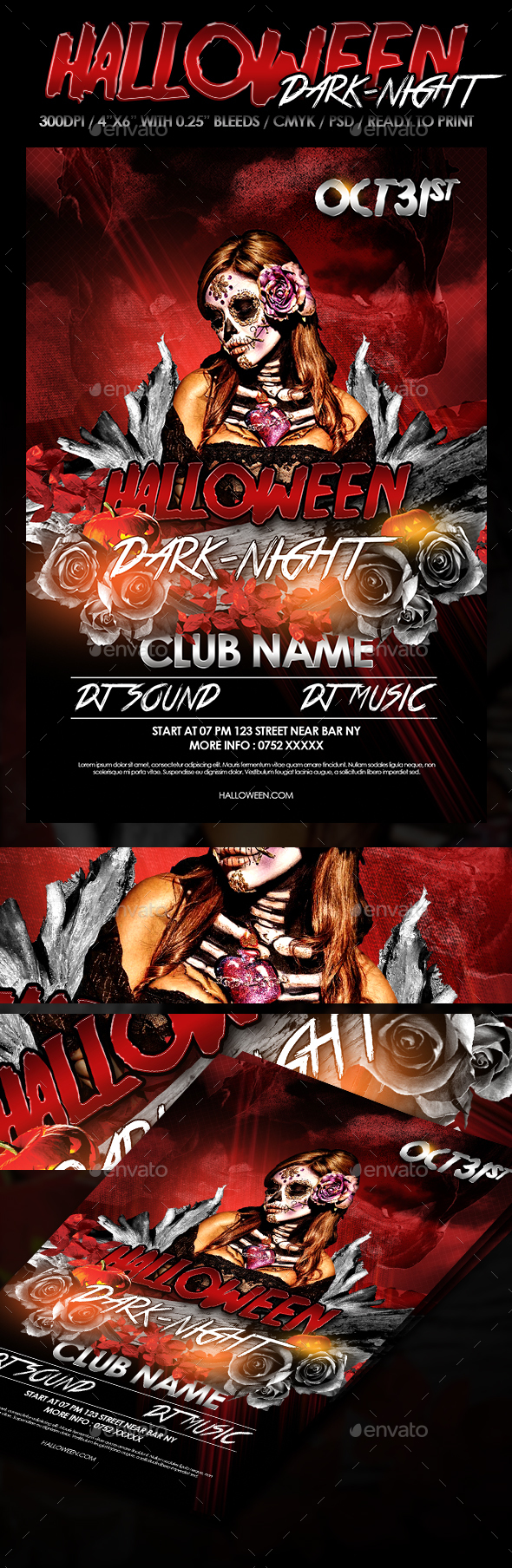 Halloween Dark Night - Clubs & Parties Events