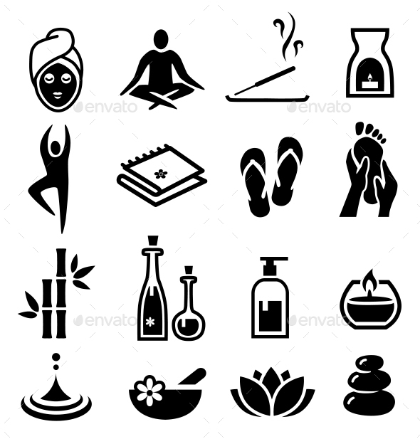 Wellness Icons - Health/Medicine Conceptual