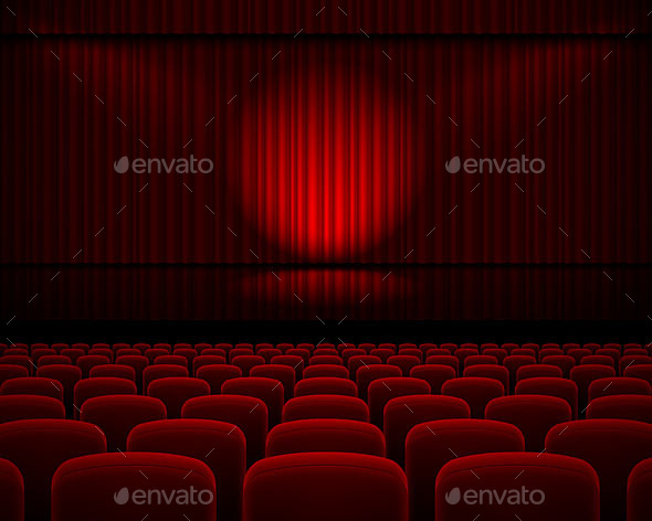 Theater Hall - Miscellaneous Vectors