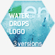 Water Drops Logo Reveal - VideoHive Item for Sale