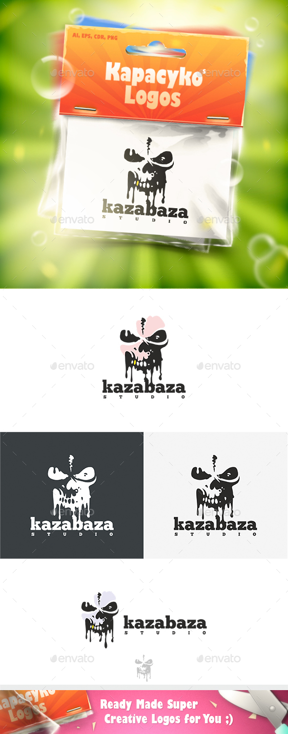 KazaBaza Logo - Vector Abstract