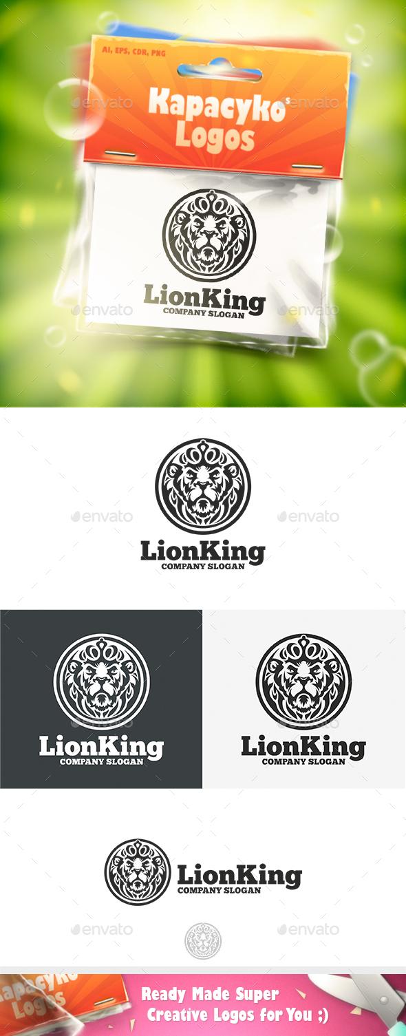 Lion King Logo - Animals Logo Templates