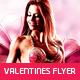 Valentine's Day Party Flyer v.2 - GraphicRiver Item for Sale