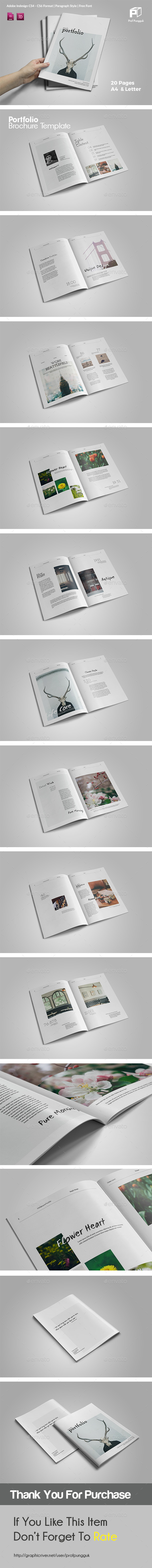 Simple Multipurpose Portfolio Vol.2 - Portfolio Brochures