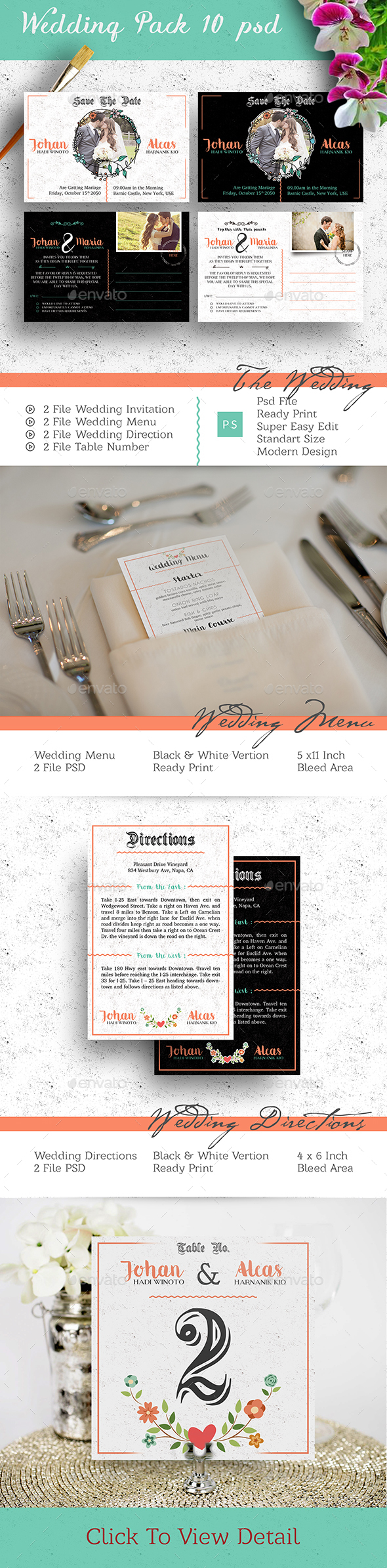 Wedding Invitation Pack - Weddings Cards & Invites