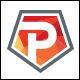 Promo Team - Letter P Logo - GraphicRiver Item for Sale