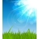 Natural Sunny Background Illustration - GraphicRiver Item for Sale