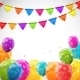 Color Glossy Balloons Background - GraphicRiver Item for Sale