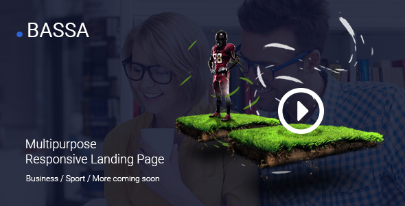 Bassa - Responsive Landing Page