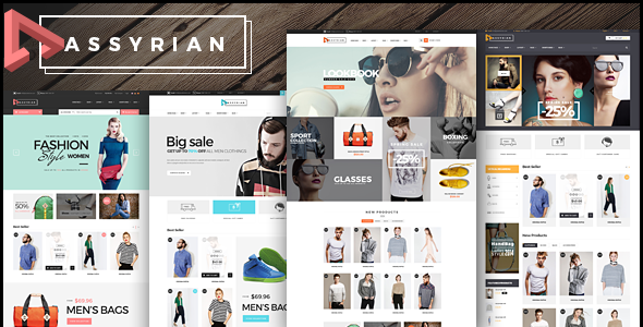 Assyrian - Fashion eCommerce Bootstrap Template - Fashion Retail