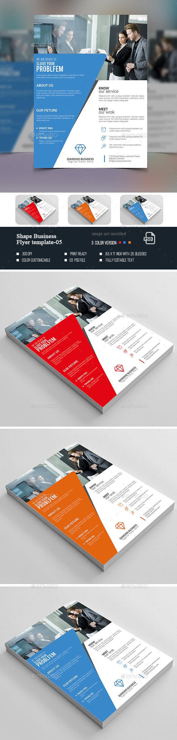 Shape Business Flyer-05 - Corporate Flyers