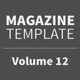 Magazine Template - Volume 12 - GraphicRiver Item for Sale