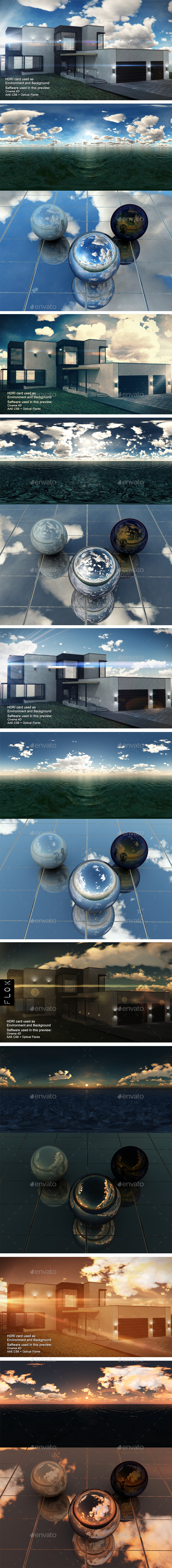HDRI Pack - Sea vol1 - 3DOcean Item for Sale