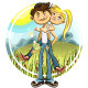 Spring Valentine Couple - GraphicRiver Item for Sale