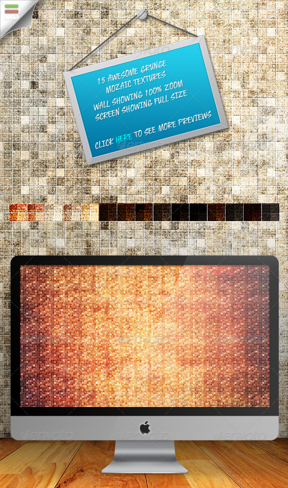 Grunge Mozaic Textures 1.0 - Art Textures