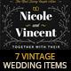 7 Vintage Items - Wedding Pack VII - GraphicRiver Item for Sale