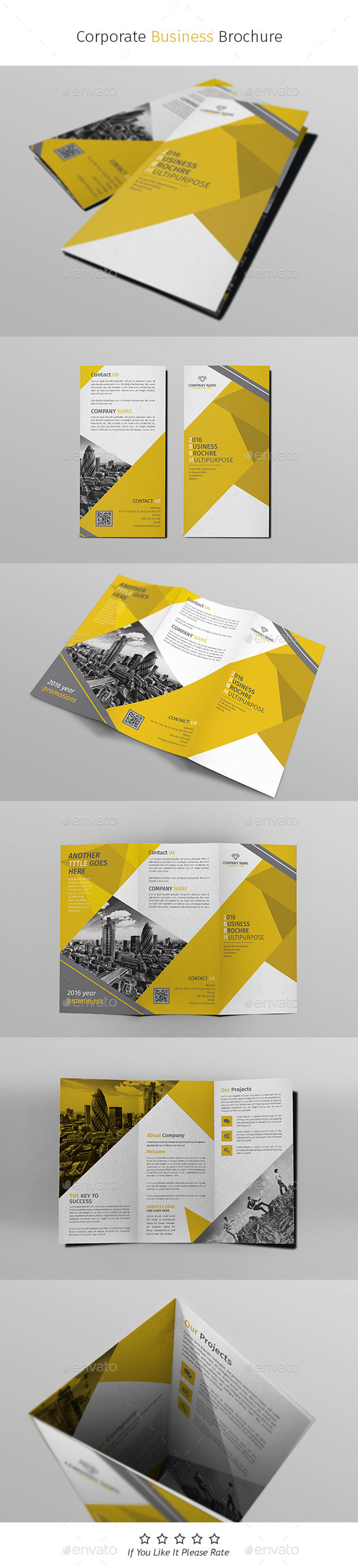 A4 Corporate Business Flyer Template Vol 03 - Corporate Brochures
