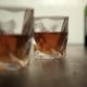 Glass Of Scotch Whiskey And Ice In Hand - VideoHive Item for Sale