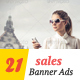 Seasonal Sale Banner Ads - GraphicRiver Item for Sale