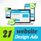 Web Design Banner Ads Vol.4 - GraphicRiver Item for Sale