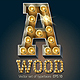 Vector Wooden Lamp Alphabet - GraphicRiver Item for Sale