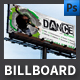 Dance School Billboard Template - GraphicRiver Item for Sale