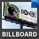 Dance School Billboard Template - GraphicRiver Item for Sale